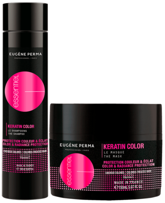 ESSENTIEL BOX KERATIN COLOR šampon + maska - 2